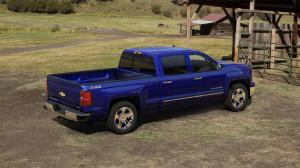Blue 2014 Blue Chevy Silverado