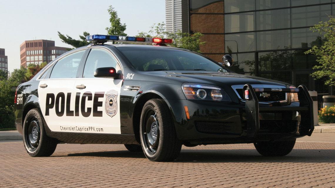 Chevy Caprice PPV Police Cruiser