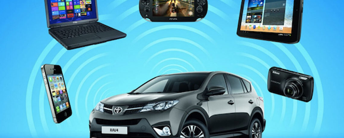 Vehicles with Wifi Hotspots