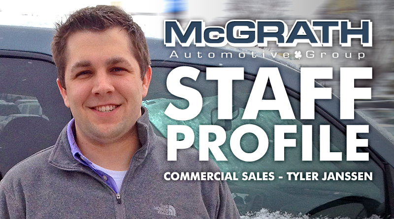 Cedar Falls Car Dealerships >> Get to Know Commercial Sales Consultant Tyler Janssen ...