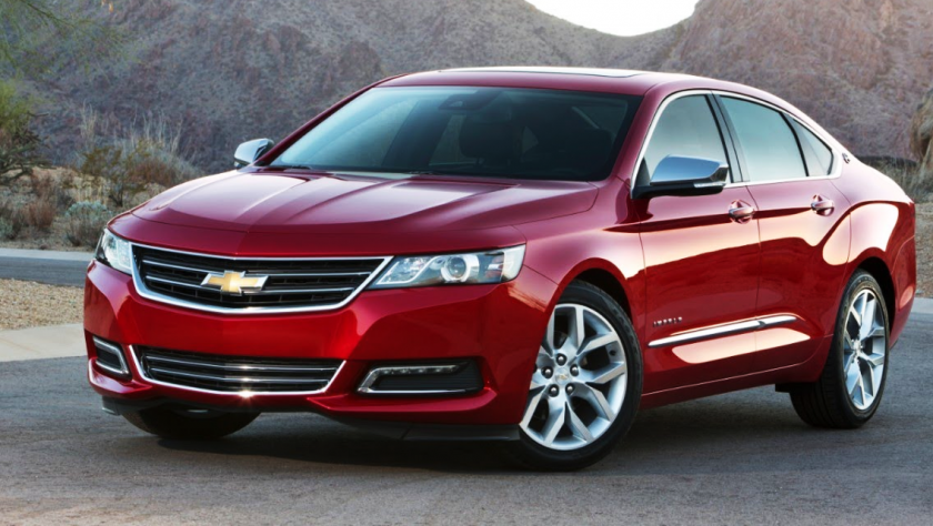 2014 Red Chevy Impala