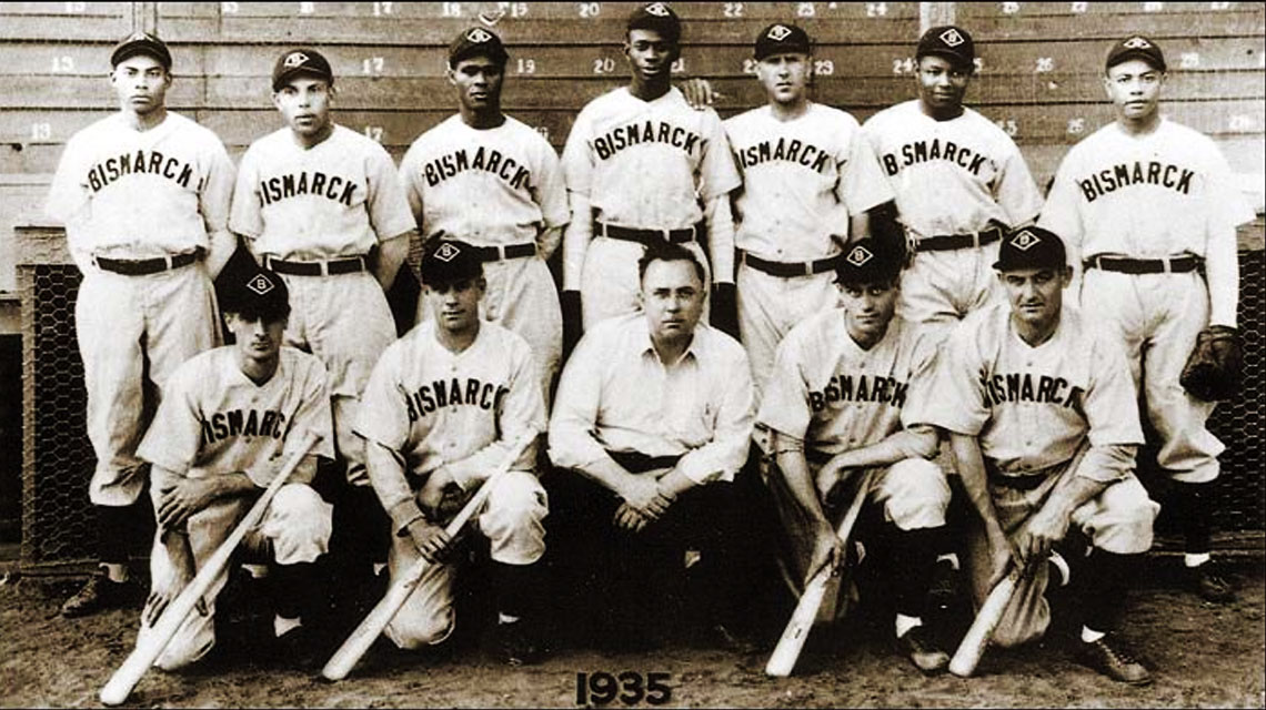 Neil Churchill Bismarck Baseball Team