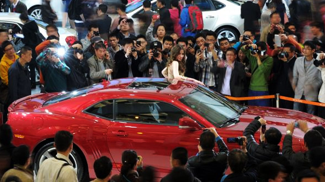 American Cars Head to Shanghai