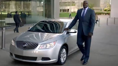 does shaq really drive a lacrosse? all signs point to yes - mcgrath