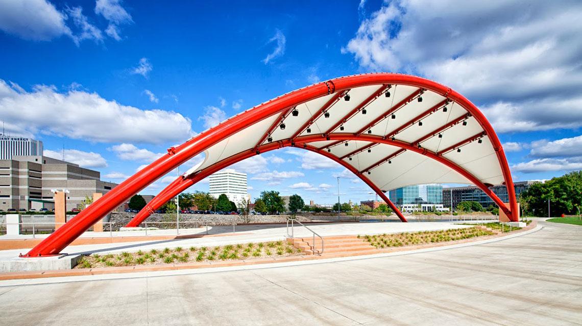 Mcgrath Amphitheater Is The Cedar Rapids Areas Newest Venue