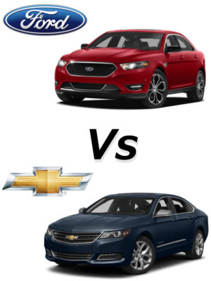 Ford Taurus vs Chevy Impala
