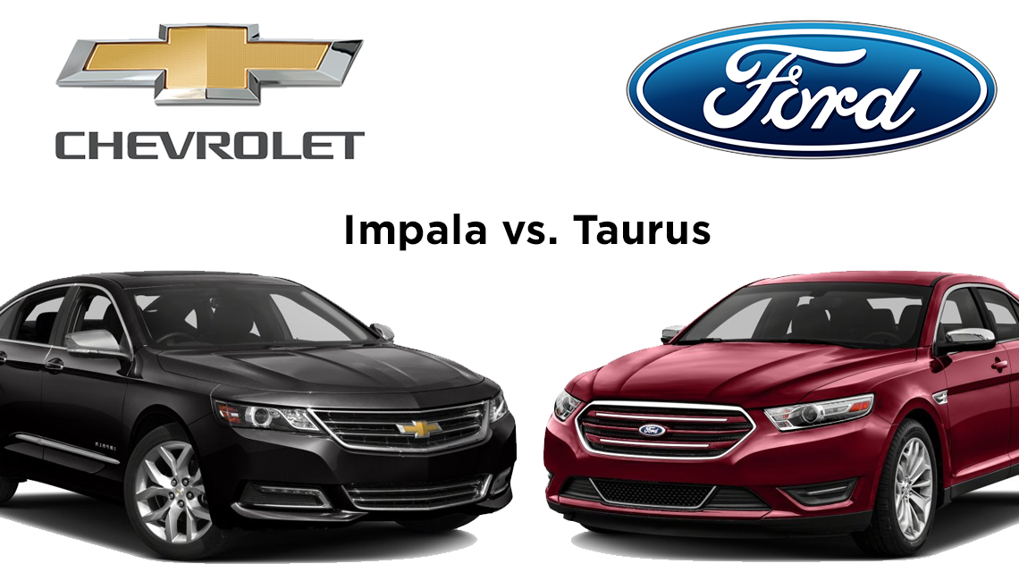 Chevy Impala vs Ford Taurus