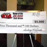 McGrath Kia Test Drive Giveaway Drawing