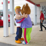 Mascot Love!