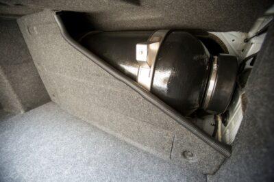 Chevy Impala Bi Fuel Compartment