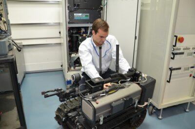 General Motors Fuel Cell Testing