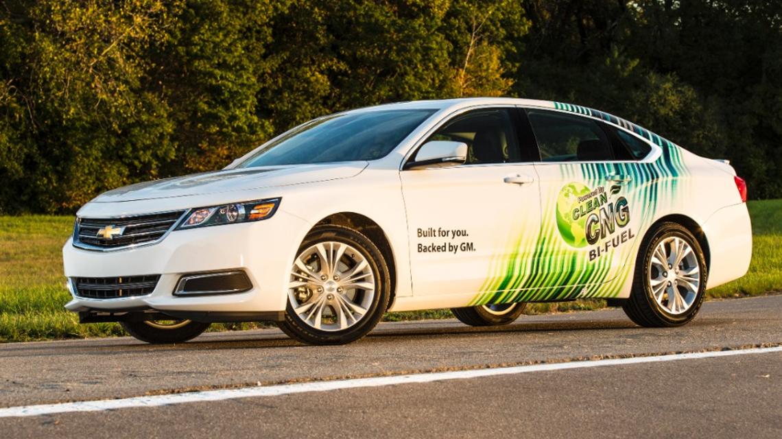 2015 Chevy Impala Bi Fuel