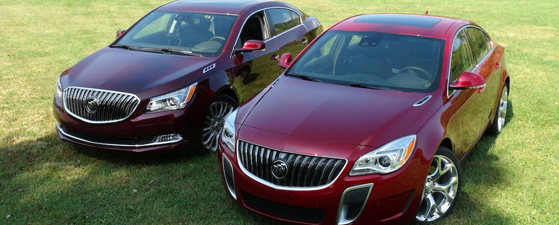 2014 Buick Regal and Buick LaCrosse