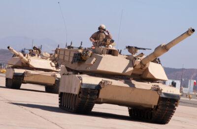 United States Army Desert Tanks