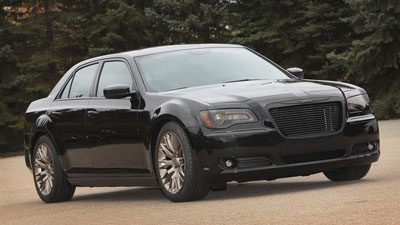 A Mopar-modified Chrysler 300
