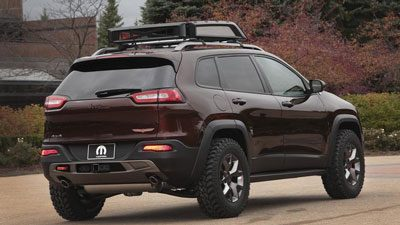 The Jeep Cherokee Trail Carver concept