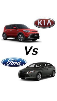 Kia Soul Vs Ford Focus