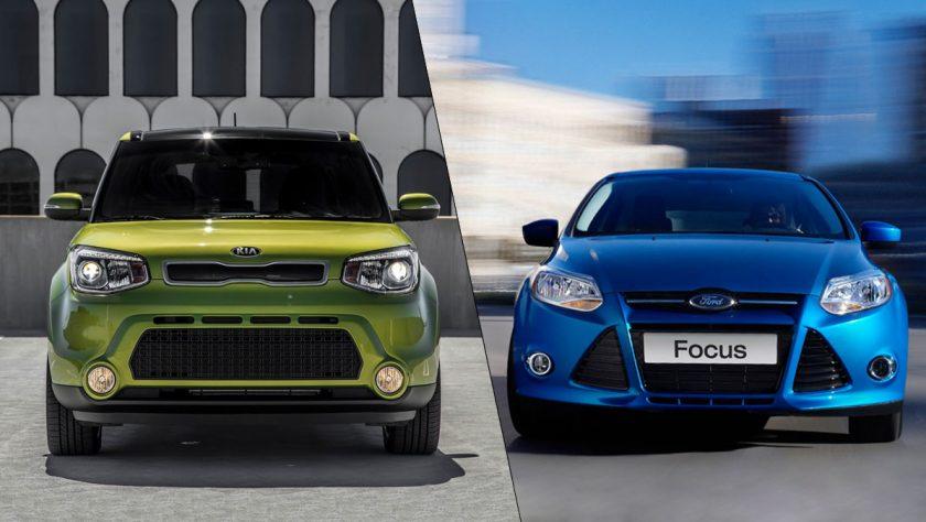 Car Comparison: 2014 Ford Focus vs 2014 Kia Soul