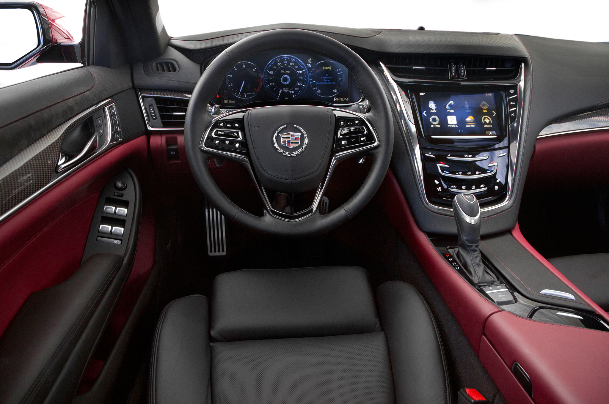 2014 cadillac cts 3 6 interior mcgrath auto blog. Black Bedroom Furniture Sets. Home Design Ideas