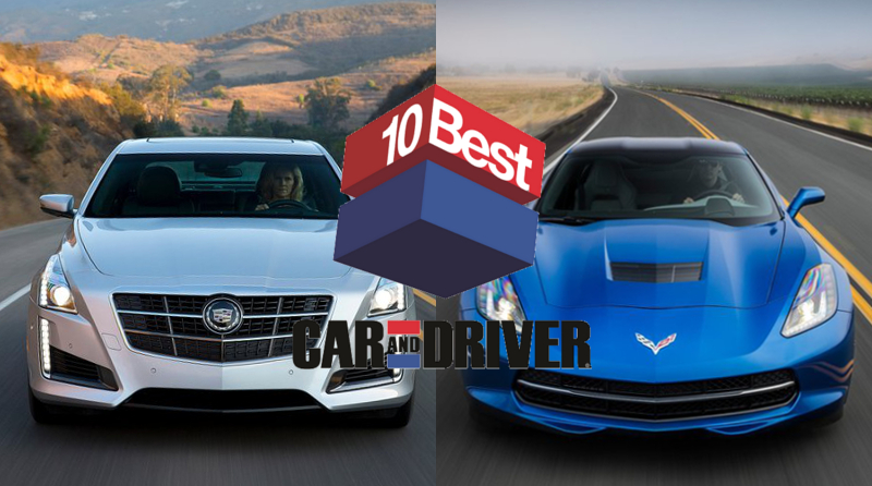 "Advanced Chassis Puts 2 Very Different General Motors Cars in ""10Best"""