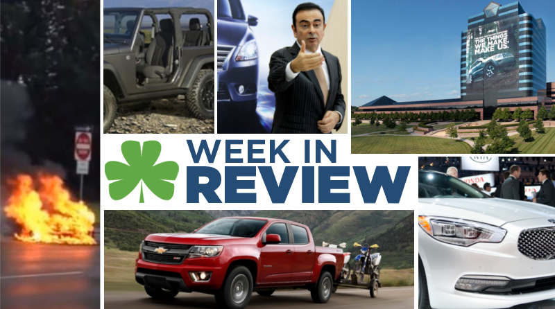 Automotive Week in Review: November 22nd, 2013