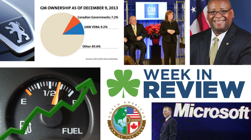 Automotive Week in Review: December 13, 2013