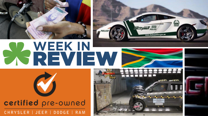 Automotive Week in Review: December 27th, 2013