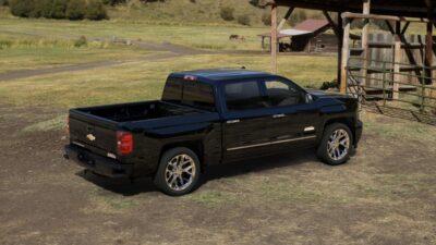 2014 Chevy Silverado Black