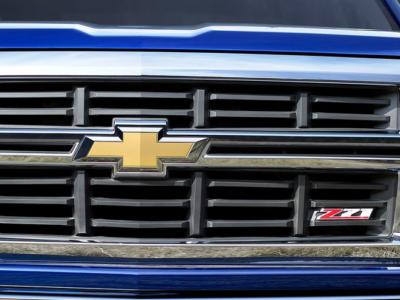 Z71 Grille Blue Silverado