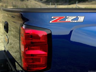 Blue Silverado Z71 Taillights