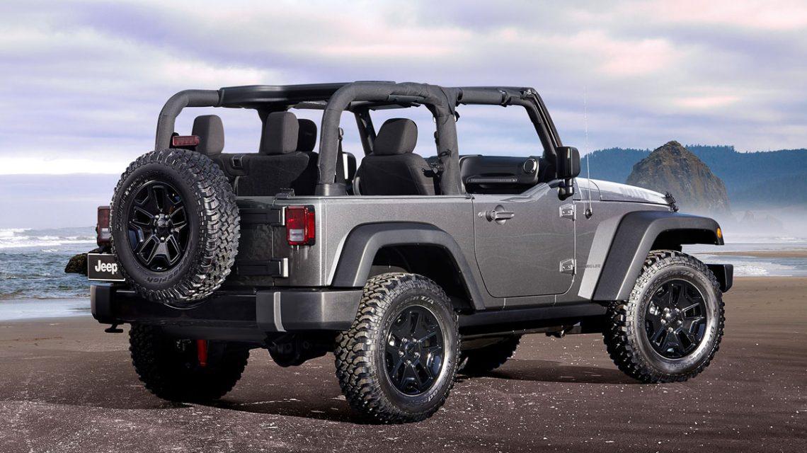 Soft top Jeep Wrangler