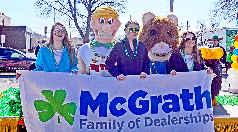 Photos From Cedar Rapids St. Patrick's Day Parade