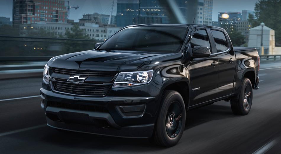 2016 Chevrolet Colorado-Midnight Special Edition