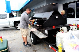 Phelps Grill Out for McGrath Auto