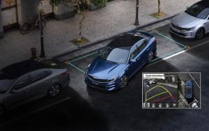 2016 Kia Optima Surround View Monitor