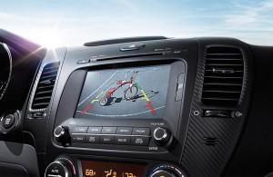 2016 Kia UVO Rear Camera Display
