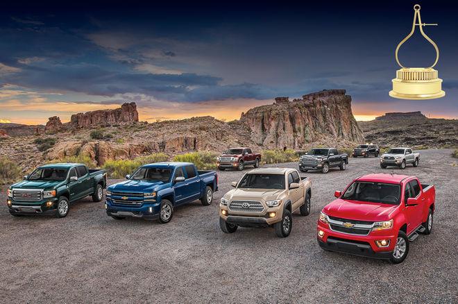 The Chevrolet Colorado Duramax Diesel Is The 2016 Motor Trend Truck