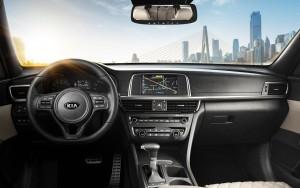 2016 Kia Optima Interior Technology