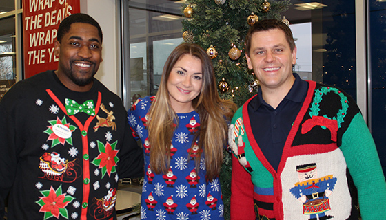 McGrath Celebrates the Holiday Season with Festive Ugly Sweaters
