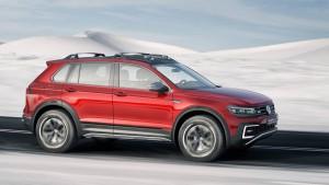 VW Tiguan Concept Exterior Side