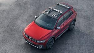 VW Tiguan Concept Roof Exterior