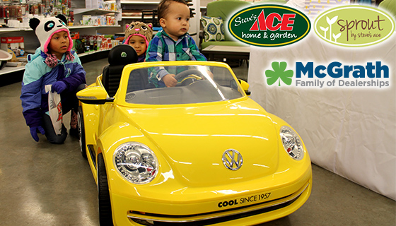 McGrath VW teams up with Steve's Ace & SPROUT for an Easter Egg Hunt!