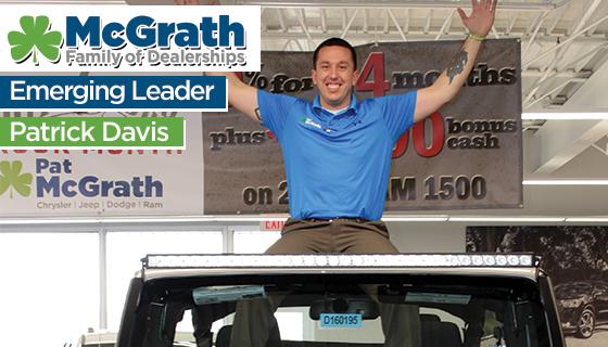 Emerging Leader Profile: Patrick Davis