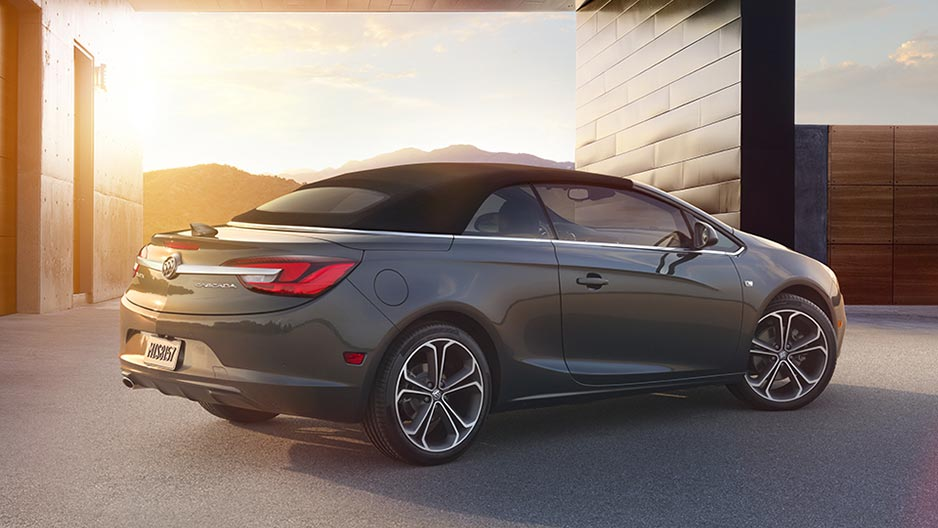 Cascada Exterior Of 2016 Buick Cascada Unlike All Other Convertibles On The