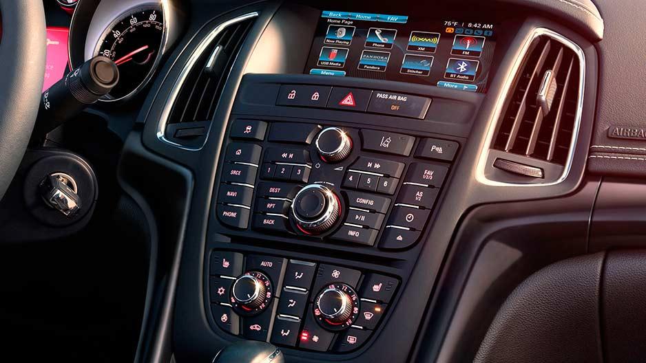 2016 Buick Cascada Technology
