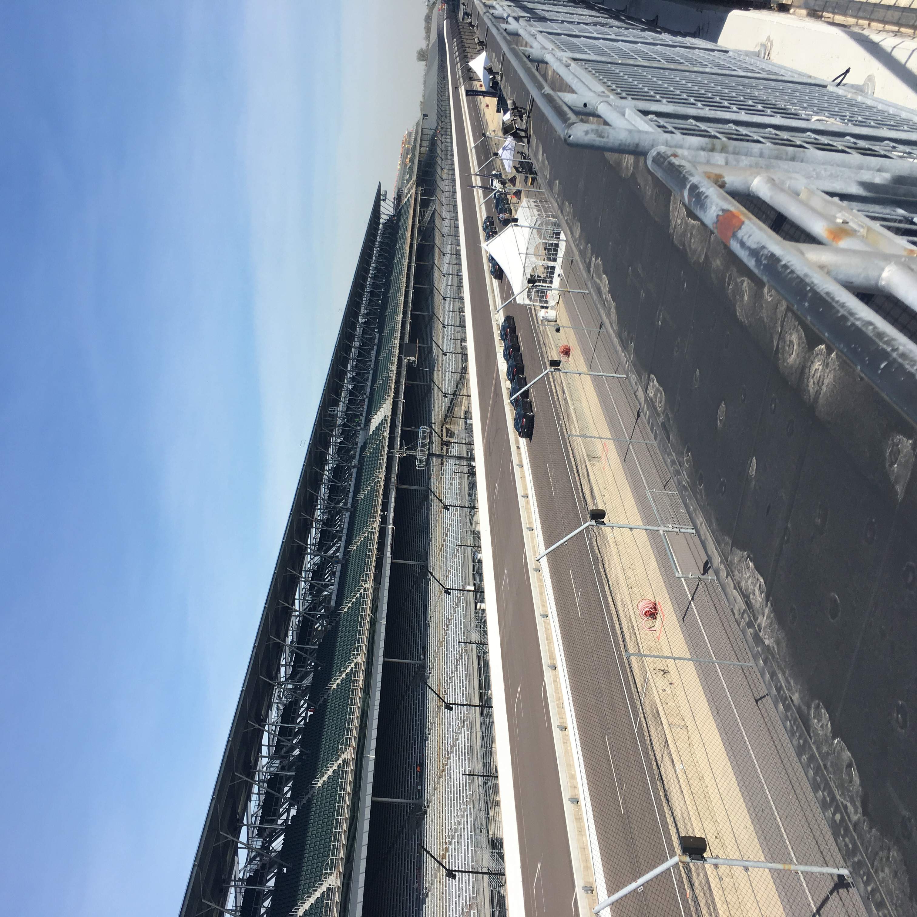 McGrath Is Off To The Races At The Indianapolis Motor