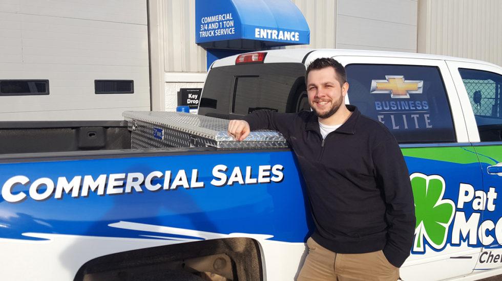 Fleet and Commercial Salesman