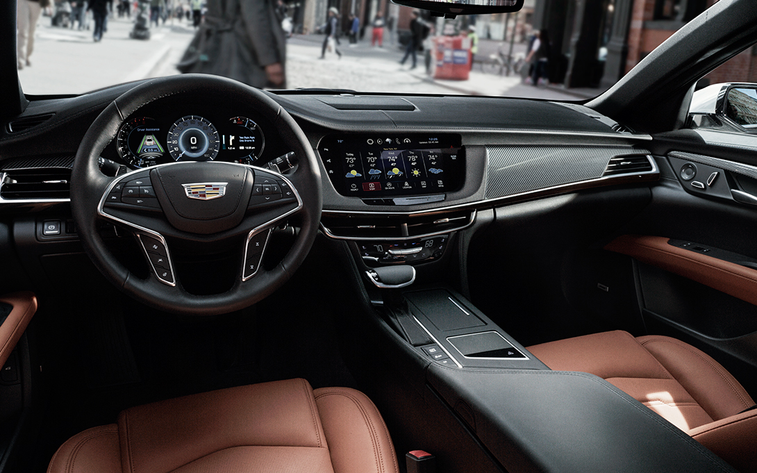 Gm Quot Surround Vision Quot Debuts In Cadillac Ct6