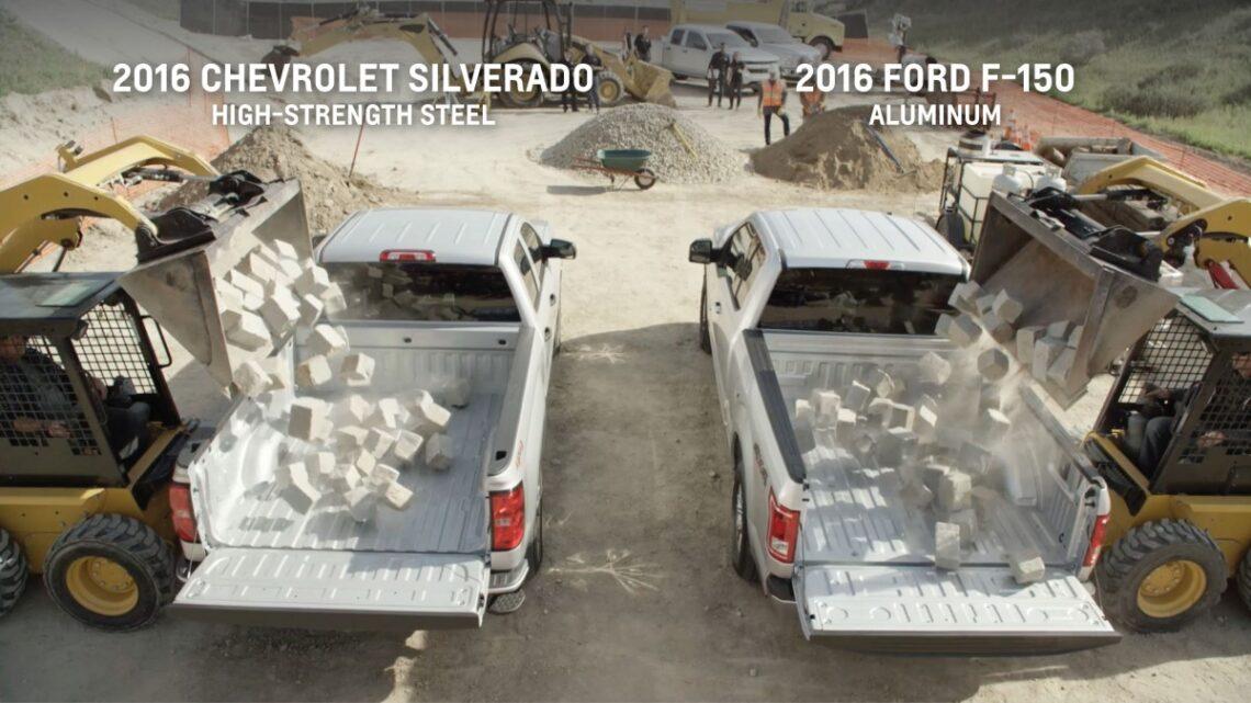 Chevy Silverado Truck Bed Vs Ford F 150