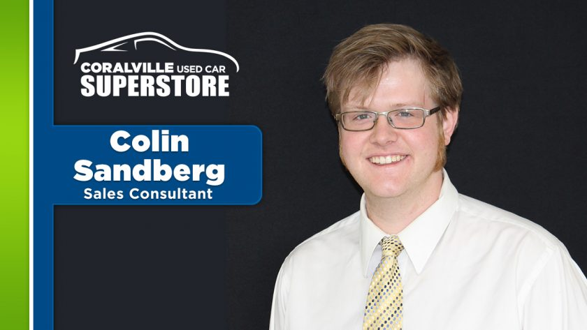 Meet Emerging Leader Colin Sandberg!